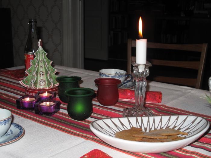 Alla läsare av bloggen önskas en riktigt God Jul!
